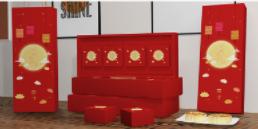 国潮港式月饼礼盒设计定制_力嘉环保包装印刷产业园