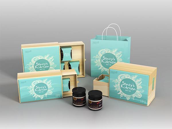 鲍鱼酱包装彩盒,精品礼盒-食品包装