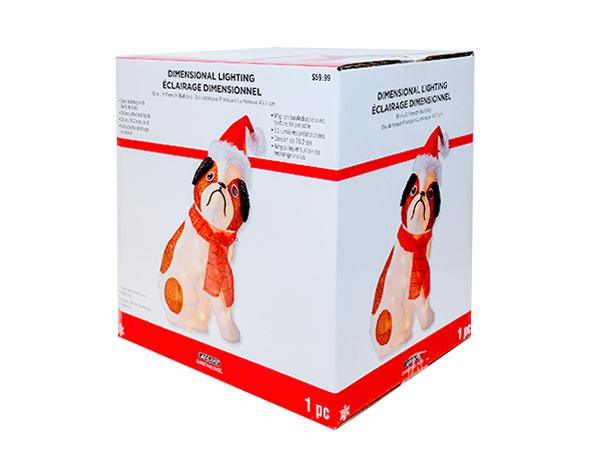 小狗玩偶包装彩盒-玩具包装彩盒