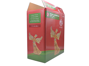 圣诞节礼品包装彩箱-玩具日用品包装彩箱