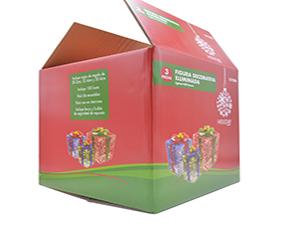 圣诞节礼物包装彩箱-玩具日用品包装彩箱