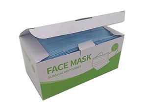 一次性防护口罩包装彩盒_口罩包装盒定制