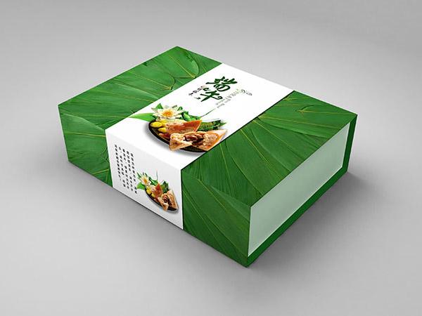 粽子包装彩箱_食品彩盒设计定制_特产包装