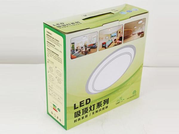 LED灯包装_筒灯盒_吸顶灯泡包装盒