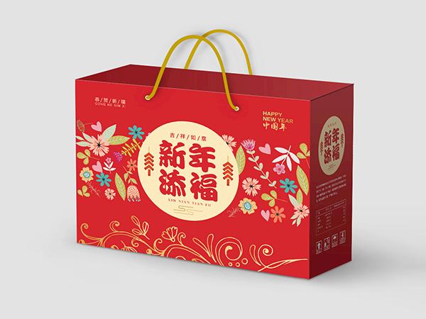 年货包装盒_包装箱_新年礼盒定制